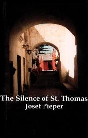Cover of: The silence of St. Thomas