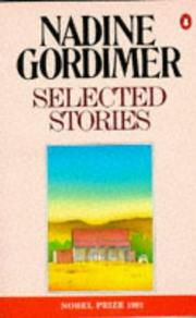 Cover of: Gordimer