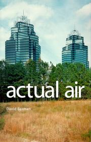 Cover of: Actual air