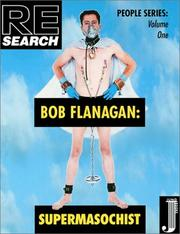 Cover of: Bob Flanagan |