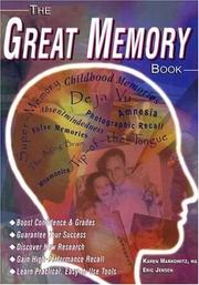 Cover of: The Great Memory Book | Karen Markowitz