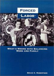 Cover of: Forced Labor | Brian C. Robertson