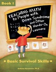 Cover of: Teaching Math to People With Down Syndrome and Other Hands-On Learners