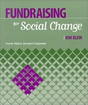 Cover of: Fundraising for social change | Kim Klein