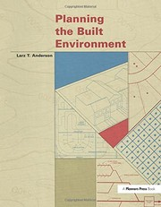Cover of: Planning the built environment
