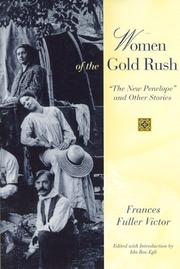Cover of: Women of the Gold Rush | Frances Fuller Victor