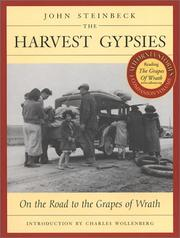 Cover of: The Harvest Gypsies: On the Road to the Grapes of Wrath