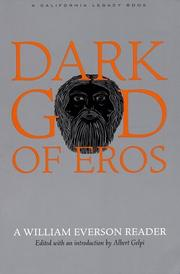 Cover of: Dark god of Eros
