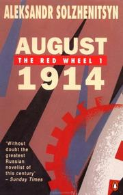 Cover of: August 1914: The Red Wheel 1