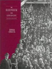 Cover of: The Handybook for Genealogists  |