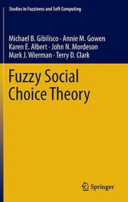 Cover of: Fuzzy Social Choice Theory