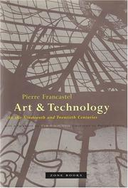 Cover of: Art & technology in the nineteenth and twentieth centuries