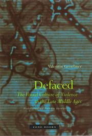 Cover of: Defaced | Valentin Groebner