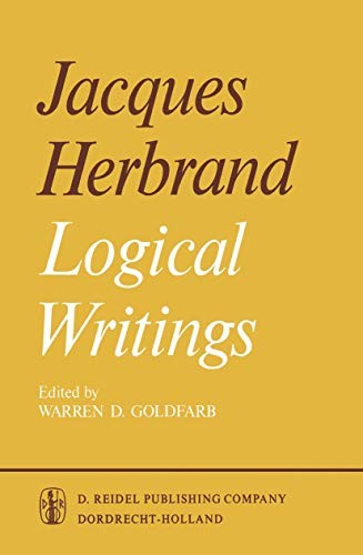 Logical Writings by Jacques Herbrand