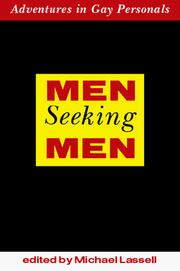 Cover of: Men seeking men |