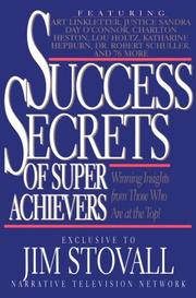 Cover of: Success Secrets of Super Achievers