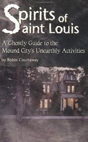 Cover of: Spirits of Saint Louis