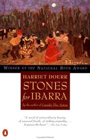 Cover of: Stones for Ibarra | Harriet Doerr