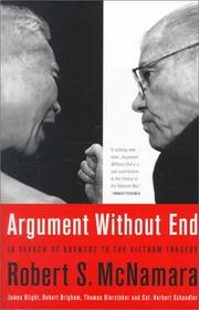 Cover of: Argument Without End
