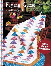 Cover of: Flying Geese Quilt in a Day | Eleanor Burns