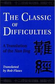 Cover of: The Classic of Difficulties | Bianque