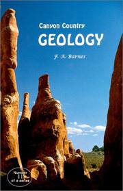 Cover of: Canyon Country Geology, 2000 Edition (Canyon Country Series #11) (Canyon country)