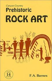 Cover of: Canyon Country Prehistoric Rock Art (Canyon Country Series #14) (Canyon Country Series Number 14)