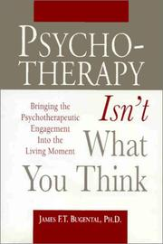 Cover of: Psychotherapy isn