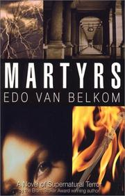 Cover of: Martyrs