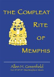 Cover of: The Compleat Rite of Memphis