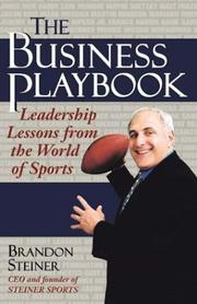 Cover of: The business playbook | Brandon Steiner