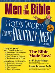 Men of the Bible by D. Larry Miller