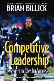 Cover of: Competitive leadership | Brian Billick