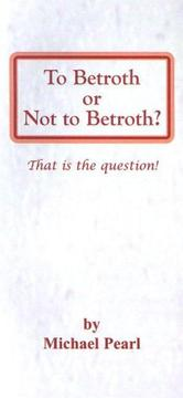 Cover of: To Betroth or Not to Betroth |