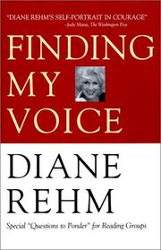 Cover of: Finding my voice