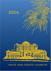 Cover of: 2006 UNITED ARABS EMIRATES YEARBOOK | Ibrahim Al Abed