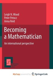 Cover of: Becoming a Mathematician