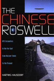 Cover of: The Chinese Roswell | Hartwig Hausdorf