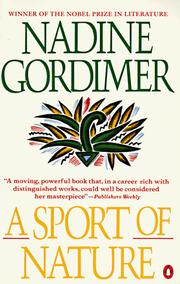 Cover of: A sport of nature