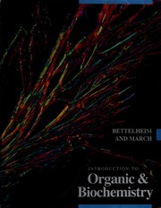 Cover of: Introduction to organic & biochemistry | Frederick A. Bettelheim