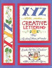 Cover of: XYZ, still more creative lettering | Lindsay Ostrom, Vicky Breslin
