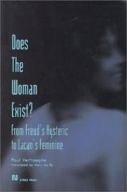 Cover of: Does the woman exist?