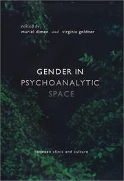 Cover of: Gender in psychoanalytic space