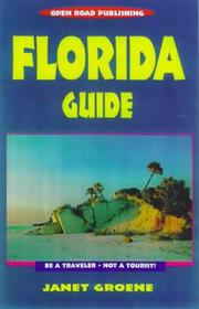 Cover of: Florida Guide (Open Road Travel Guides)