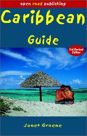 Cover of: Caribbean Guide, 3rd Edition (Open Road Travel Guides Caribbean Guide)