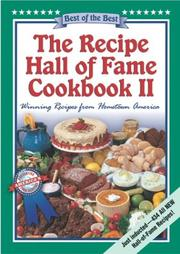 Cover of: The Recipe Hall of Fame Cookbook II: Best of the Best  |