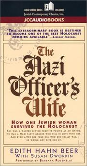 Cover of: The Nazi Officer's Wife