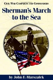 Cover of: Sherman's march to the sea