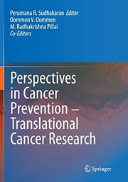 Cover of: Perspectives in Cancer Prevention-Translational Cancer Research
