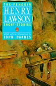 Cover of: The Penguin Henry Lawson: Short Stories
